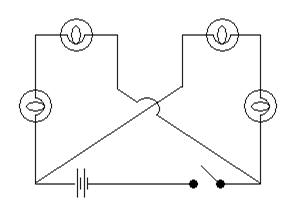 Exemple de circuit en série dans les exercices de raisonnement mécanique