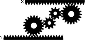 Exemple de rotation inverse dans les exercices de raisonnement mécanique