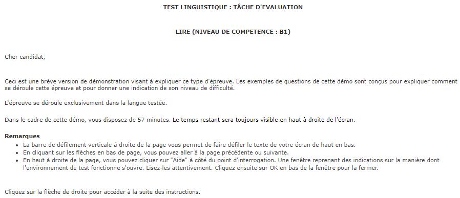 test linguistique informatis u00e9 du selor expliqu u00e9
